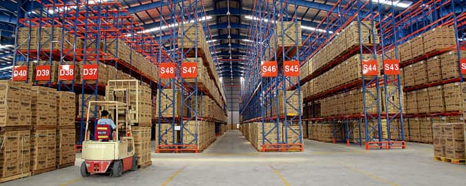 warehouse packing china