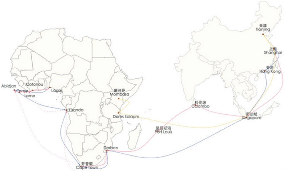 freight china africa