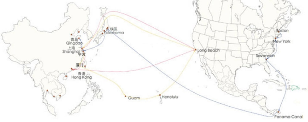CHINA OFFERS DIFFERENT SHIPPING ROUTES - Sino Shipping